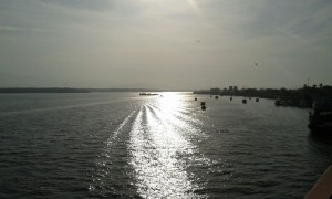 Al momento del derrame, Marco Quesada volvía de una gira por el Golfo de Nicoya.