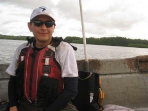 Sailing through mangrove forests